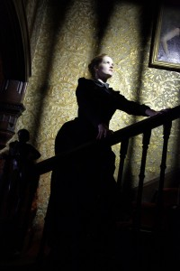 Governess on the Stairs